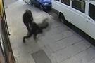 Genç kıza şoke eden saldırı