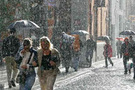 İstanbullulara sağanak yağış uyarısı