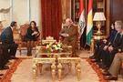 Aysul Tuğluk Barzani ile bir arada