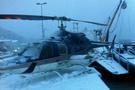 Helikopter öyle bir yere indi ki...