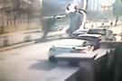 Kartal'daki korkunç kaza kamerada