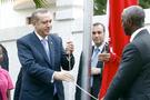 Erdoğan Türk bayrağını göndere çekti!