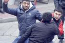 Marmara Üniversitesi'nde taşlı sopalı kavga