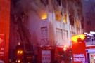 Beşiktaş'taki yangında dehşet olay