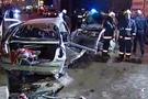 Sancaktepe'de feci kaza