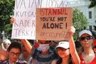 Beyaz Saray önünde Gezi protestosu