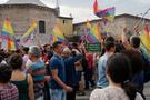 Taksim'de renkli LGBT yürüyüşü