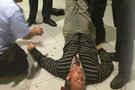 Alman polisi Türk'ü bu hale getirdi