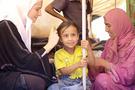 Mülteci kampından çarpıcı izlenimler