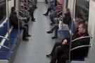 Metroda kan donduran saldırı