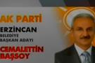 AK Parti (AKP) Erzincan Belediye Başkan adayı Cemalettin Başsoy