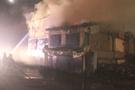 Evsiz vatandaş yangında yaşamını yitirdi