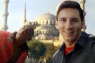 Messi ve Kobe Sultanahmet'te buluştu