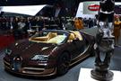 Bugatti Cenevre'de 3'te 3 Yaptı