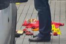 Beyoğlu'nda polisler bomba buldu