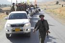 PKK konvoyu Kerkük'e böyle girdi! Şok görüntüler...
