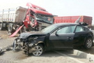 Tekirdağ'da 16 araç birbirine girdi