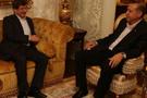 Davutoğlu'ndan Erdoğan'a bayram ziyareti