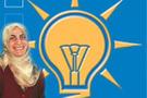 AK Partinin aykırı kadını