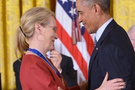 Obama'dan ilan-ı aşk! Ona aşığım kocası da biliyor!