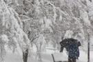 Kar yağışı Muğla'yı perişan etti!