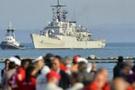 'Akdeniz'de sürüklenen göçmen gemisi Türkiye'den kalktı'
