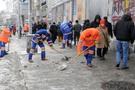 Şişli'de karla mücadeleye tam not