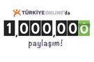 TürkiyeOnline 1 milyonuncu paylaşıma ulaştı