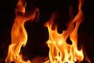 4 torun babannelerini benzinle yaktı!
