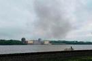 Nükleer santralde patlama Korkunç anlar