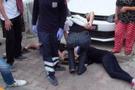 İstanbul'da minibüsçü dehşeti üstlerine sürdü!