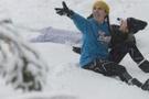 Avustralya'da yılın ilk karı sevindirdi