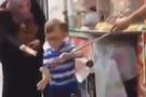 Dondurmacının şovu çocuğu çileden çıkardı