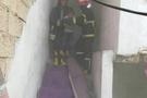 Gaziantep itfaiyesi küçük çocukları kurtardı