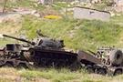 Sınırda tanklarla tatbikat