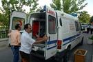 Doktoru ambulans ezdi