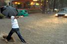 Bodrumda şiddetli yağış!
