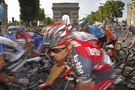 Bisiklet turunda zafer Sastrenin