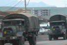 Hakkaride askeri araç devrildi