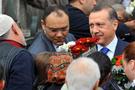 Erdoğan mezar ziyaretinde