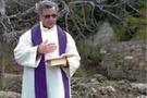 Öldürülen rahip için ayin