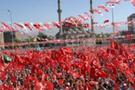 İzmirde seçim alayı!