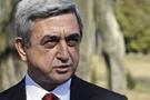 Aliyev ile Sarkistan bir araya geldi