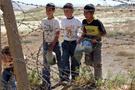 Mayınlı arazi çocukların oyun bahçesi