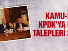 Kamu-Sen KPDK'ya hangi talepleri sundu?