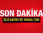 Ankara patlaması ölü sayısı kaç? Resmi rakam