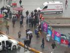 Taksim Metrosu'nda panik ambulans ve polis geldi