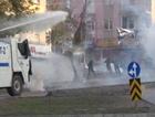 Bombalı saldırı protestosuna gazlı müdahale