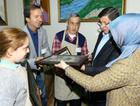 Başbakan Davutoğlu'na engellilerden sürpriz