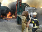 Rusya yardım tırlarını vurdu ölü var